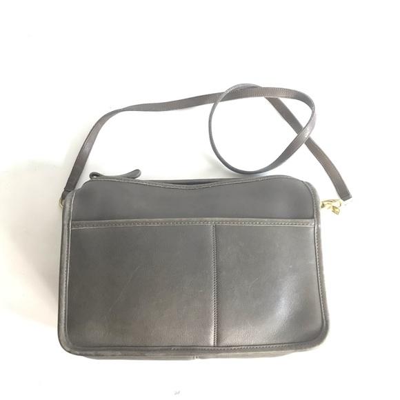 Coach Handbags - Vintage Coach Gray 1980-90' made in USA